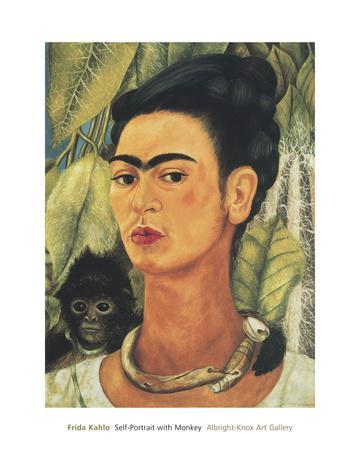 Self-Portrait with Monkey, c.1938