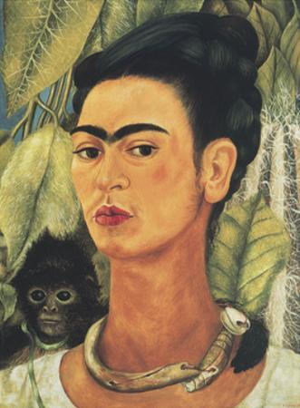 Self-Portrait with Monkey, c.1938