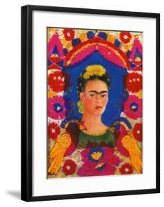 The Frame, c. 1938 by Frida Kahlo