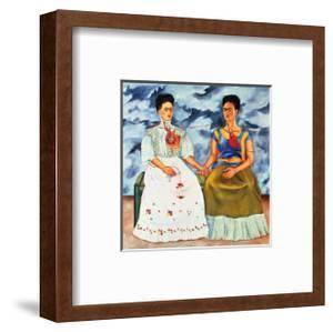 The Two Fridas, c.1939 by Frida Kahlo