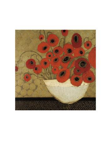Frida's Poppies-Karen Tusinski-Art Print
