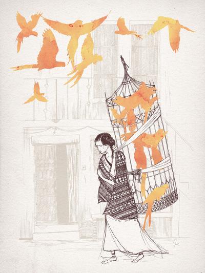 Frida-David Fleck-Art Print