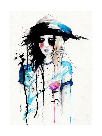 Friday-Holly Sharpe-Art Print