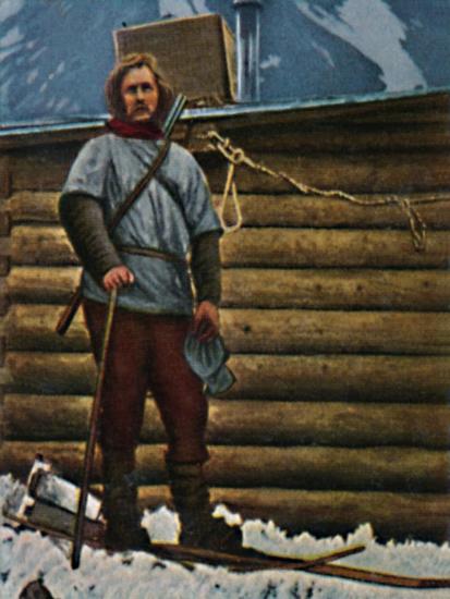 'Fridtjof Nansen 1861-1930', 1934-Unknown-Giclee Print