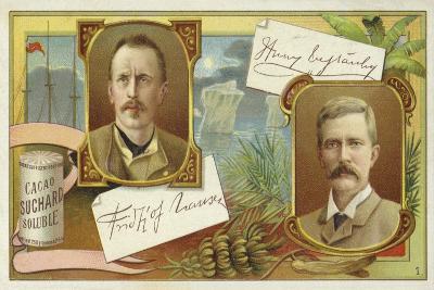 Fridtjof Nansen and Henry Morton Stanley--Giclee Print