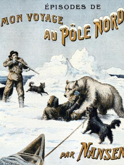 Fridtjof Nansen at North Pole 1897-Chris Hellier-Photographic Print