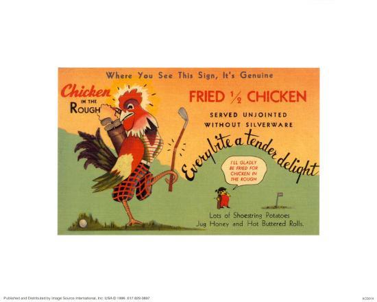 Fried Chicken--Art Print