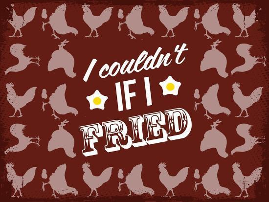 Fried Love--Giclee Print