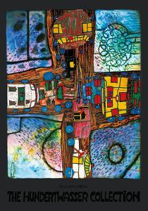 Crossroads by Friedensreich Hundertwasser