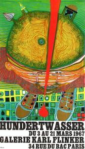 Expo Galerie Kark Finkler by Friedensreich Hundertwasser