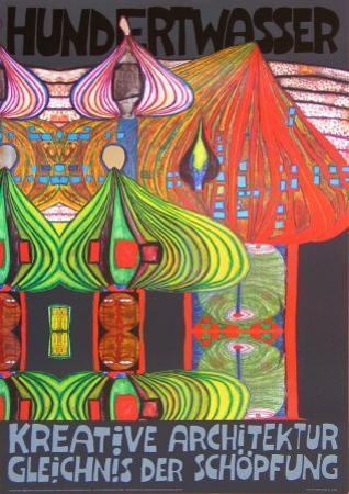 Kreative Architecture by Friedensreich Hundertwasser