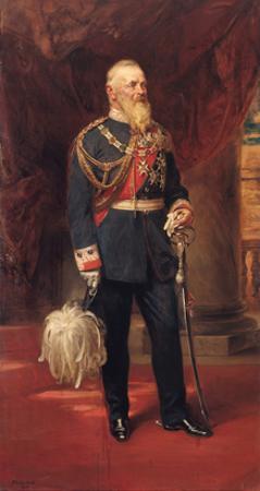 Portrait of Prince Regent Luitpold of Bavaria, 1902 by Friedrich August Von Kaulbach