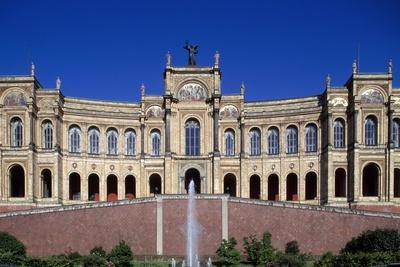 Maximilianeum, Seat of Bavarian Parliament in Munich, 1874