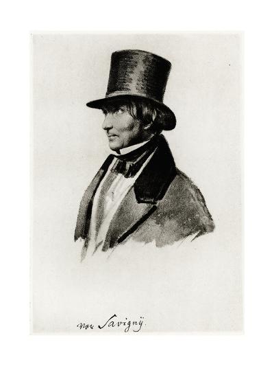 Friedrich Carl Von Savigny, 1884-90--Giclee Print