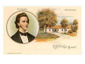 Friedrich Chopin and Birthplace