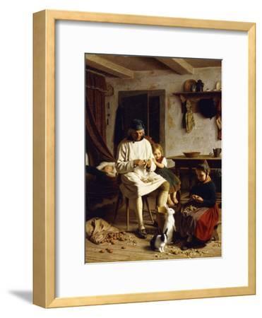 Family Chores, 1859