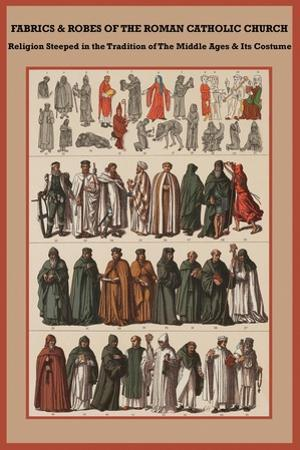 Fabrics and Robes of the Roman Catholic Church by Friedrich Hottenroth