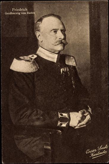 Friedrich II, Der Letzte Großherzog Von Baden--Giclee Print