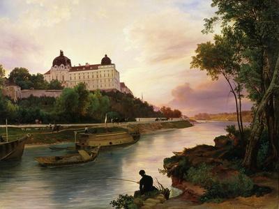 Klosterneuburg Monastery, on Danube river, Austria