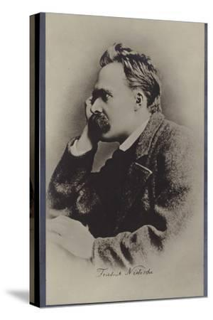 Friedrich Nietzche (1844-1900), German Philosopher and Writer