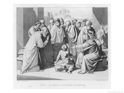 The Boy Jesus Discusses Theology with the Doctors in the Temple of Jerusalem