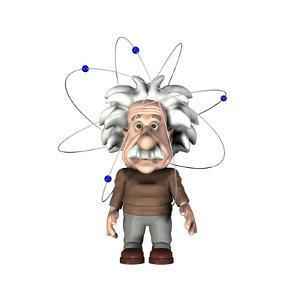 Albert Einstein, Artwork by Friedrich Saurer