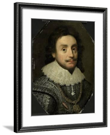 Friedrich V, Elector Palatine (Frederick I, King of Bohemia, the Winter King)-Michiel Jansz van Mierevelt-Framed Art Print