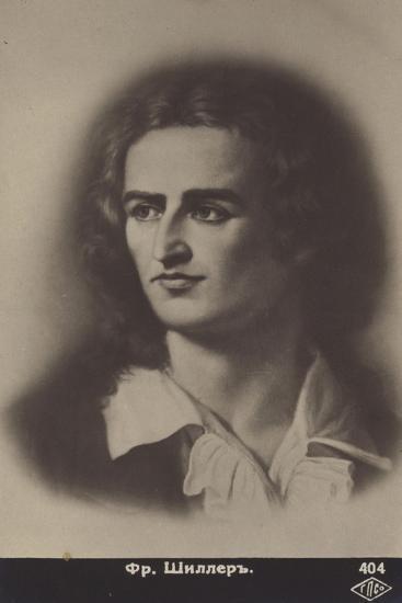 Friedrich Von Schiller--Giclee Print