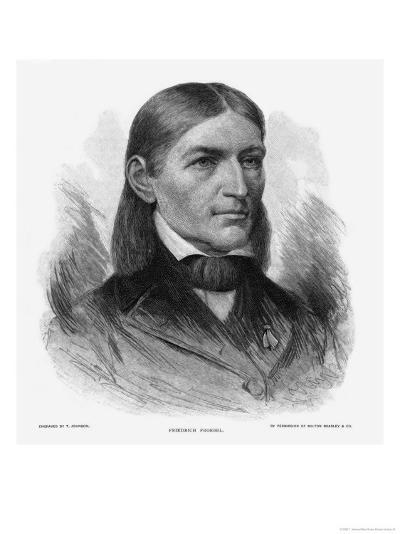 Friedrich Wilhelm August Froebel German Educator-T^ Johnson-Giclee Print
