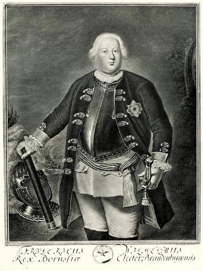Friedrich Wilhelm I., 1884-90--Giclee Print
