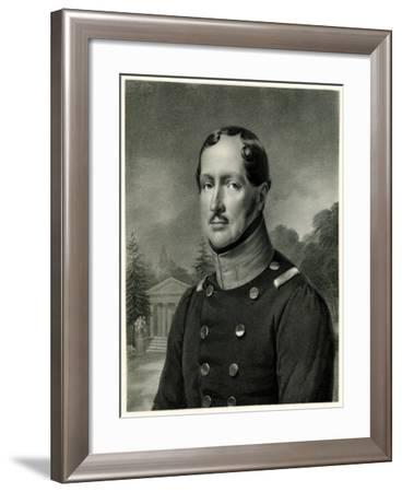 Friedrich Wilhelm III., 1884-90--Framed Giclee Print