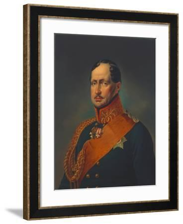Friedrich Wilhelm III of Prussia--Framed Giclee Print