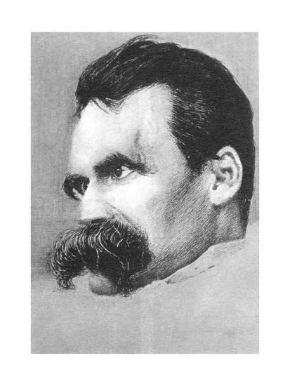 Friedrich Wilhelm Nietzsche, German Philospher and Writer-Hans Olde-Giclee Print