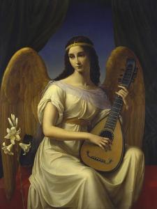 Mignon, 1828 by Friedrich Wilhelm von Schadow