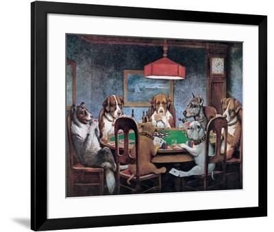 Friend In Need-Cassius Marcellus Coolidge-Framed Art Print