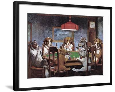 Friend In Need-Cassius Marcellus Coolidge-Framed Premium Giclee Print