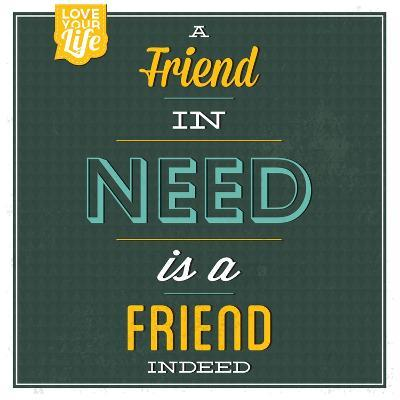 Friend Indeed-Lorand Okos-Art Print