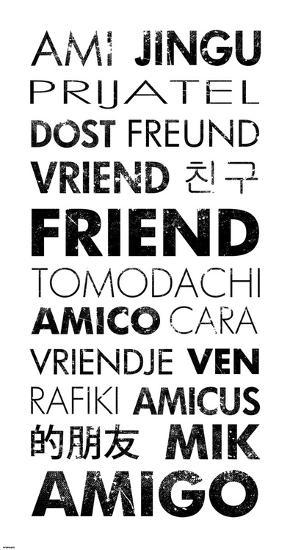 Friend Languages-Veruca Salt-Art Print
