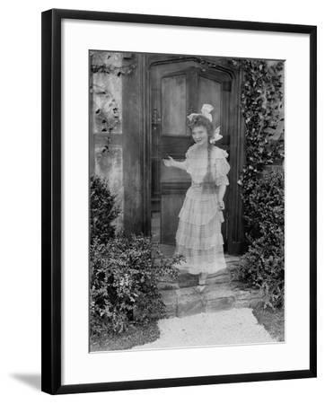 Friendly Ghost--Framed Photo