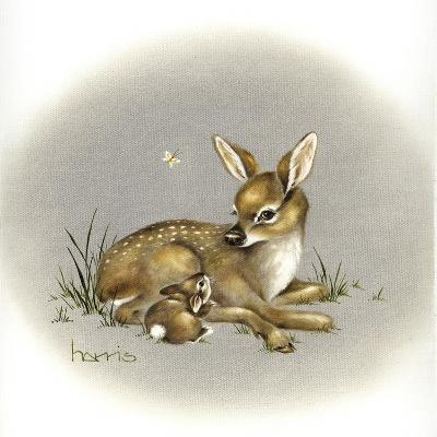Friends for Life-Peggy Harris-Giclee Print