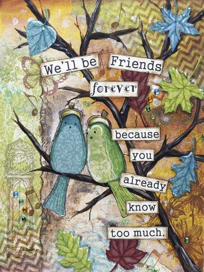 Friends Forever-Let Your Art Soar-Giclee Print
