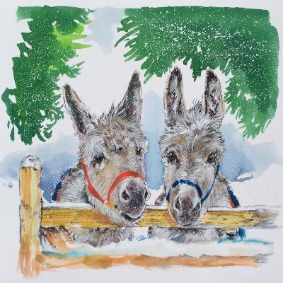 Friends in the Field, 1996-Diane Matthes-Giclee Print