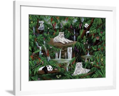 Friends in the Rainforest-Betty Lou-Framed Giclee Print