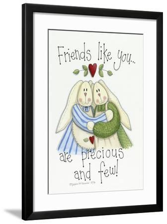 Friends Like You Bunnies-Debbie McMaster-Framed Giclee Print
