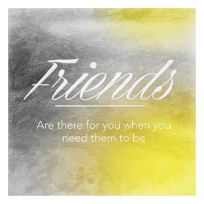 Friends Sun-Jace Grey-Art Print