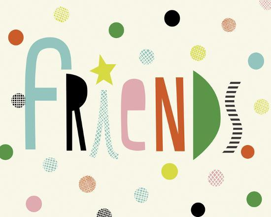 Friends-Sophie Ledesma-Giclee Print