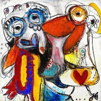 Friends-Martin Kalhoej-Art Print