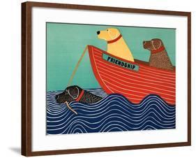 Friendship1-Stephen Huneck-Framed Giclee Print