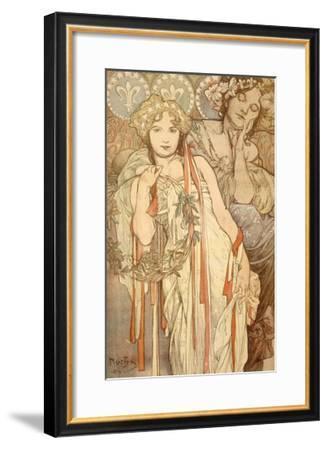 Friendship-Alphonse Mucha-Framed Giclee Print