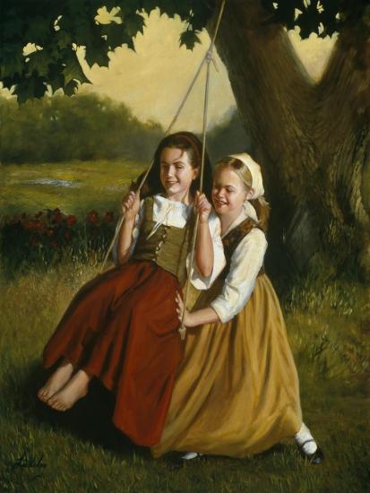 Friendship-David Lindsley-Giclee Print